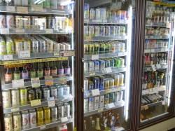 お酒の冷蔵庫