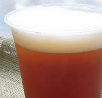 四万温泉エールの生ビール