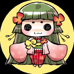 四万温泉の摩耶姫ちゃん