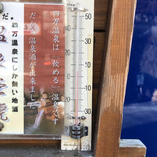 冬のあったかい日の温度