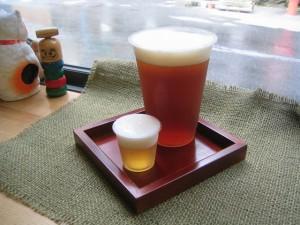 地ビールの生ビール